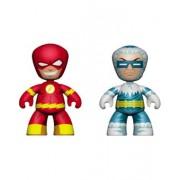 Mezco Toyz DC Universe Mini Mezitz The Flash/Captain Cold (Pack of 2)