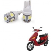 Auto Addict Scooty T10 5 SMD Headlight LED Bulb for Headlights Parking Light Number Plate Light Indicator Light For Indus Electron ER 7