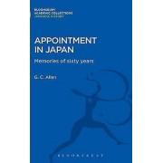 Nomination au Japon Memories of Sixty Years par George Cyril Allen