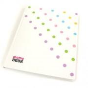 Memo Book Notes Memo Book 19,5x23,8 cm - Aktywne kropki - aktywne kropki