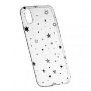 Husa Silicon Transparent Slim Star 143 Apple iPhone X
