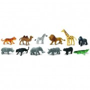 Animale salbatice Safari Toob Set 12 figurine
