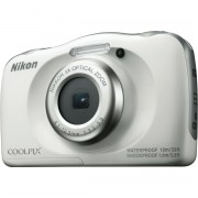 Nikon Coolpix W100 White VQA010E1 All Weather Waterproof Digital Camera bijeli vodonepropusni vodootporni podvodni digitalni kompaktni fotoaparat VQA010E1