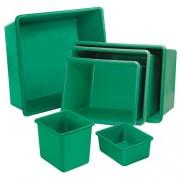 Üvegszövetbetétes műanyag edény 550 l 4504