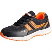 Action Navy Orange Men's Sports Running Shoes