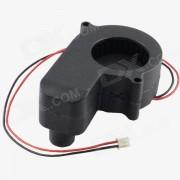 P5028B AV-0.25A Ventilador de refrigeracion de 12 hilos de 2 contactos HDD 29-Blade - negro