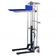 400 kg teherbírás, 1500 mm emelés. Emelőasztal, hidraulikus kézi magasemelő 400 kg teherbírás, 1500 mm emelés