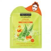 Freeman Mască hidratantă din pânză Aloe Vera și cătină albă (Hydrating Sheet Mask) 25 ml