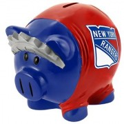 NHL New York Rangers Resin Large Thematic Piggy Bank
