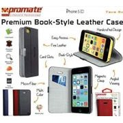 Promate Tava 5C Book-Style Flip Case with Card