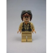 LEGO Indiana Jones German Soldier Minifigure W/ Brown Helmet