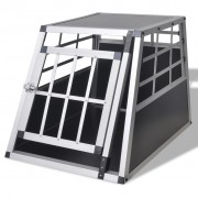 vidaXL Transport kavez za pse S, 1 vrata, visina 50 cm