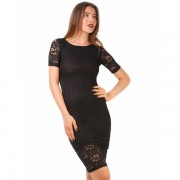 Rochie Lonely Lace Black