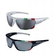 Salice 002 ITA Casual Sunglasses - One Size - White/Black
