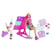 Spray Doll with Hair Color & Design Fashion Doll Salon Set with Accessories Toy Set for Girls (Assorted Dolls) Doll Play Set
