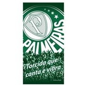 TOALHA PALMEIRAS VELUDO 45092 - BOUTON - VERDE