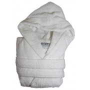 Peignoir de Bain ˆ Capuche COOKY (380g/m2) Blanc (5/6 ans)