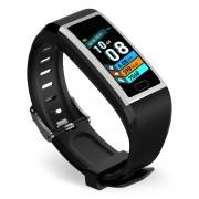 LEMONDA SMART SNY18 1.14-inch Color Screen Waterproof Single Point Touch Fitness Tracker Bracelet Smart Watch Band - Grey