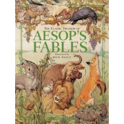 The Classic Treasury of Aesop's Fables, Hardcover