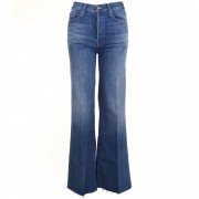 Mother jeans The Tomcat Roller Fray blauw