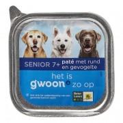 g´woon Hondenvoer paté met rund & gevogelte