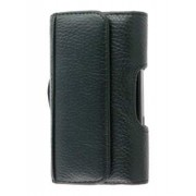 Samsung Galaxy Fit S5670 Synthetic Leather Belt Pouch - Samsung Belt Pouch (Black)