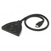 Unotec Switch com Cabo 3x HDMI 4K