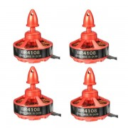 4X Racerstar Racing Edition 4108 BR4108 600KV 4-6S Brushless Motor For 500 550 600 RC Drone FPV Racing