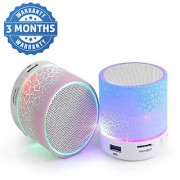 Multicolor S10 Mini Wireless Portable Plastic Bluetooth Speakers 3 Months Seller Warranty