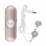 EB Moda MP3 Portátil Reproductor De Música FM U Disco Música FM Radio Reproductor De MP3-oro Rosa