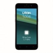 "UTOK 5008 - 5"" HD IPS OGS, Octa-Core 1.7GHz, 1GB RAM, 8GB, Dual-SIM - negru - RS125013268-2"