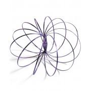 Flow Rings - Lila Arm-Spinner i Metall