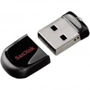 USB stik Cruzer® Fit™ SanDisk 64 GB crni SDCZ33-064G-B35 USB 2.0
