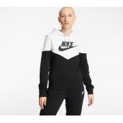 Nike Sportswear Heritage Hoodie Black/ White/ Black