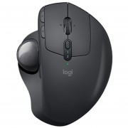 Mouse Logitech MX ERGO Bluetooth Ergonómico Con Bola De Trayectoria - Negro