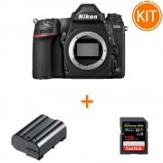 Kit Nikon D780 Body + card memorie SanDisk Extreme Pro 128GB + acumulator tip EN-EL15 Power3000 PLW715B.853