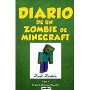 Diario de Un Zombie de Minecraft: Un Libro No Oficial Sobre Minecraft, Paperback