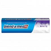 ORAL B pasta za zube 100 ML 3D white Blend-a-med