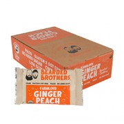 BEARDED BROTHERS ENERGY BARS (Fabulous Ginger Peach) (Organic) 12 Bars