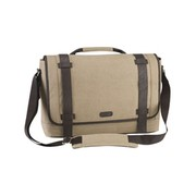 Targus Canvas Laptop Messenger Bag for Men - sacoche pour ordinateur portable
