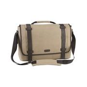 Targus Canvas Laptop Messenger Bag for Men - sacoche pour ordinateur portable