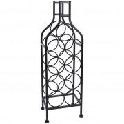 Stojak WINO regał szafka półka na butelki wina - 9 butelek