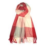 Ardena Rossa - velká šála cashmere červená