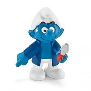 Schleich Schleich Smurfs management people 20768