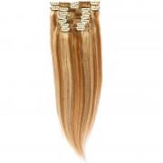 Clip-On Par Natural Volum 50cm 180gr Saten Deschis Suvitat/Blond Deschis #12/60