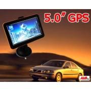 "GPS навигатор - 5"" Навигация ,FM трансмитер,128 MB"