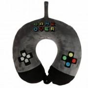 Game Over memória habos nyakpárna