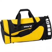 erima Sporttasche 5-CUBES (mit Nassfach) - gelb/schwarz | M