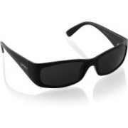 DKNY Rectangular Sunglasses(Black)