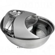 Esőcsepp alakú itatókút rozsdamentes acélból - Teljes szett: itató, csereszűrő,